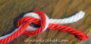 knot color change