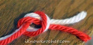 knot color change