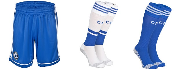 Chelsea shorts, socks for 2013-2014 season