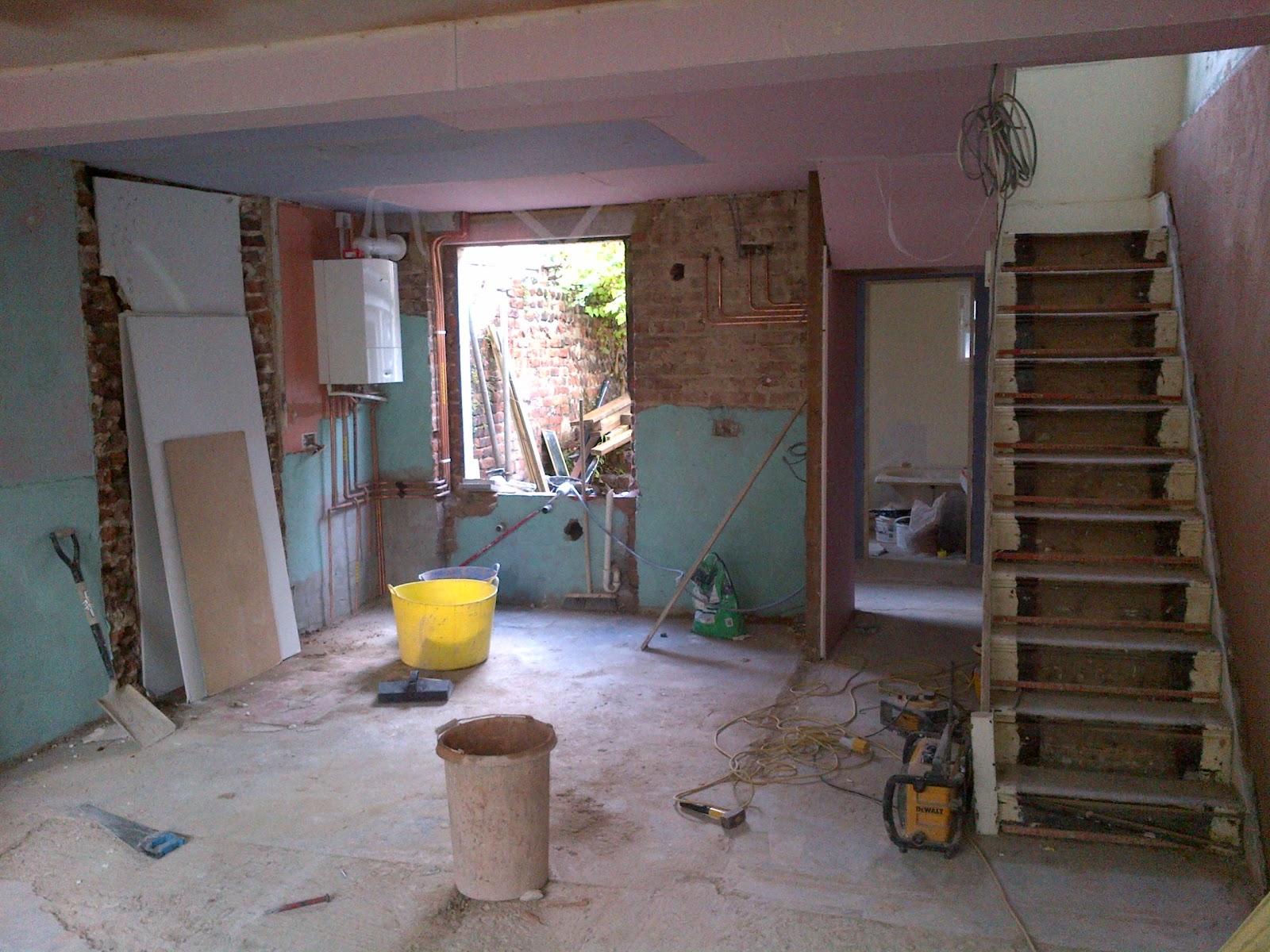 bebuilt complete rufurbishment of 4 storey house in hove. Black Bedroom Furniture Sets. Home Design Ideas