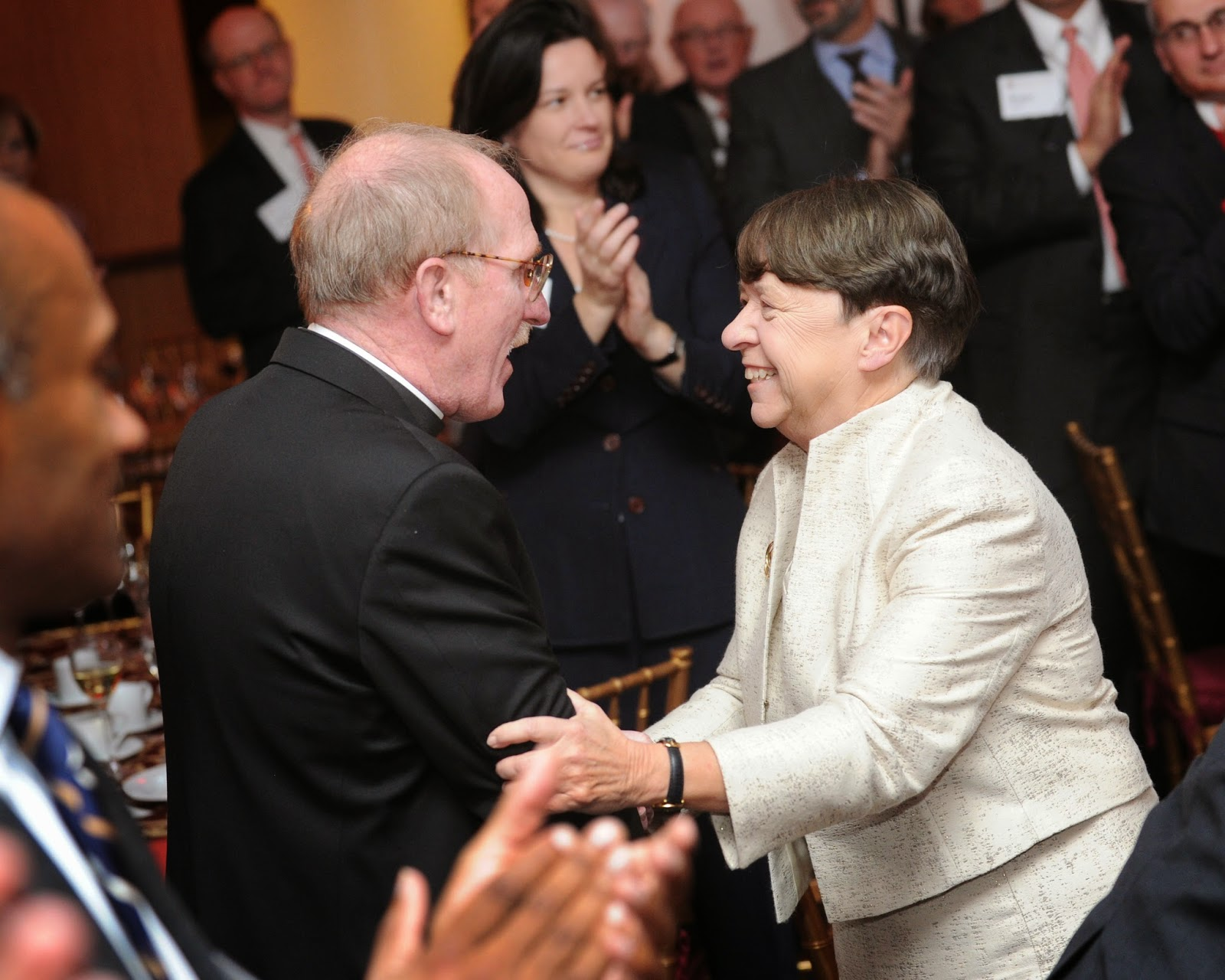 Mary Jo White Honored at Law School Ceremony