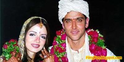 hrithik_roshan_suzanne_roshan_bollywood_famous_wedding_FilmyFun.blogspot.com