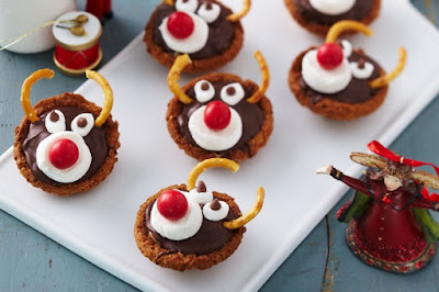 Rudolf caramel tartlet Recipe