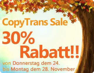 CopyTrans Sale