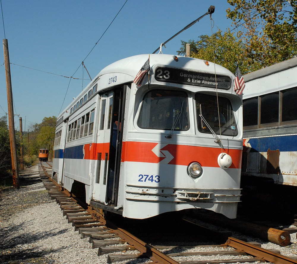 ... Germantown Pike in suburban Philadelphia, or SEPTA 2743, ...