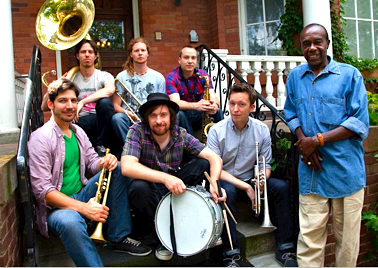 Jay Douglas & Heavyweights Brass @ Nathan Phillips Square, 6:30pm, FREE!