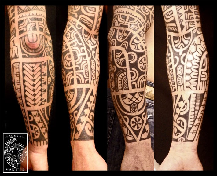 tatouage polynesien polynesian tattoo december 2013. Black Bedroom Furniture Sets. Home Design Ideas