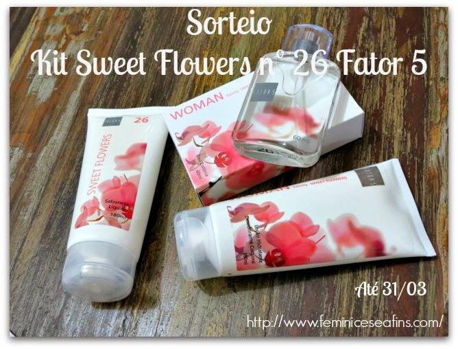 Sorteio Kit Fator 5