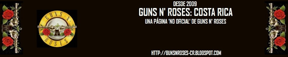Guns N' Roses Costa Rica