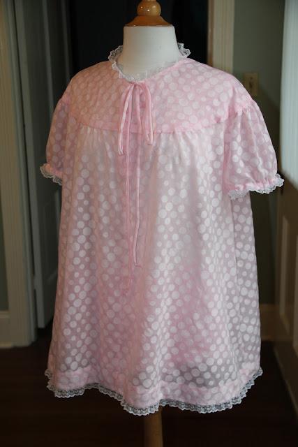 Pink Babydoll Pajamas
