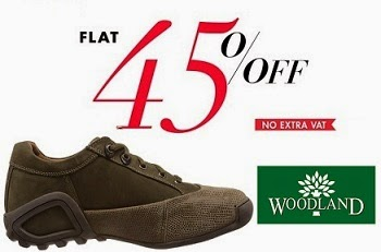 Amazon Offer: Flat 45% Off on Men's  Woodland Shoes / Sandals / Slippers (Limited Period Offer)