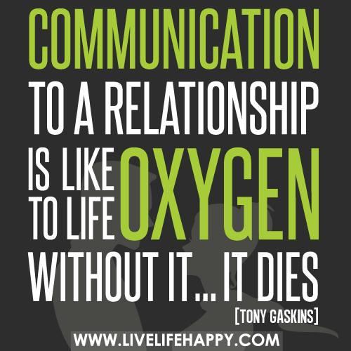 lack communication oxygen