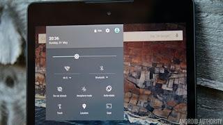 Panel Notifikasi Dinamis Android M