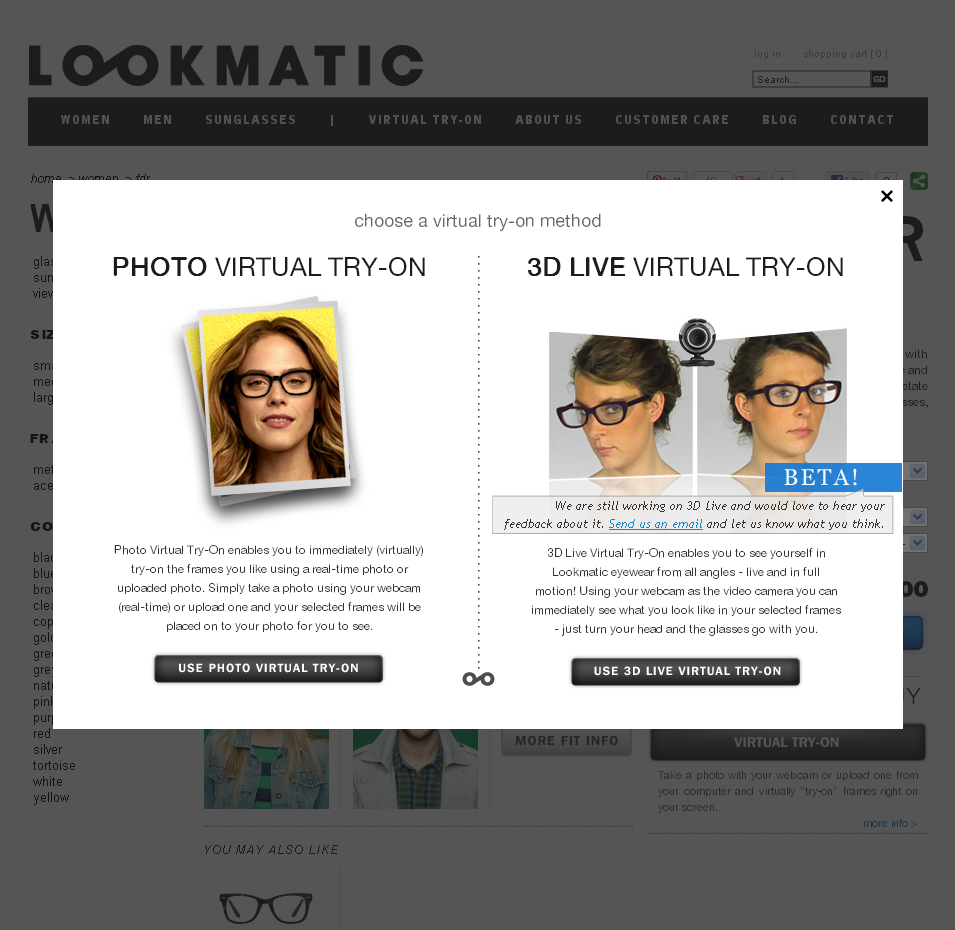 Revisiting Magento Portfolio: Lookmatic a Powerful ...
