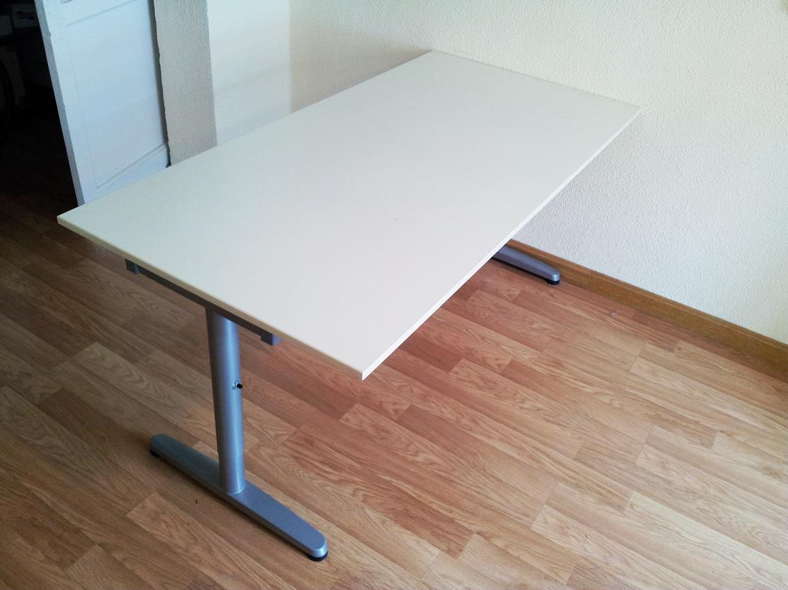 Yomemudo mesa grande altura ajustable - Mesa regulable en altura ikea ...