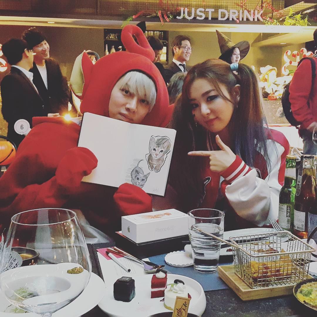 I Love Red Velvet : SMTOWN WONDERLAND HALLOWEEN EVENT