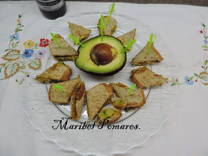 Mini Sándwich Mexicano
