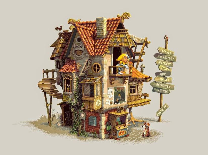 Pixel Art house