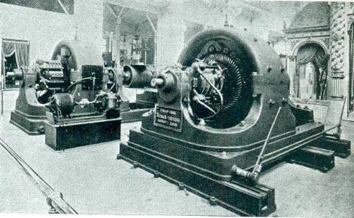 Tesla's-Polyphase-AC-500-Generator