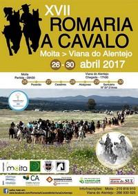 Moita/Viana do Alentejo- XVII Romaria a Cavalo- 26 a 30 Abril