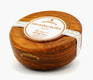 D.R. Harris Shaving Soap- an animal tallow based option