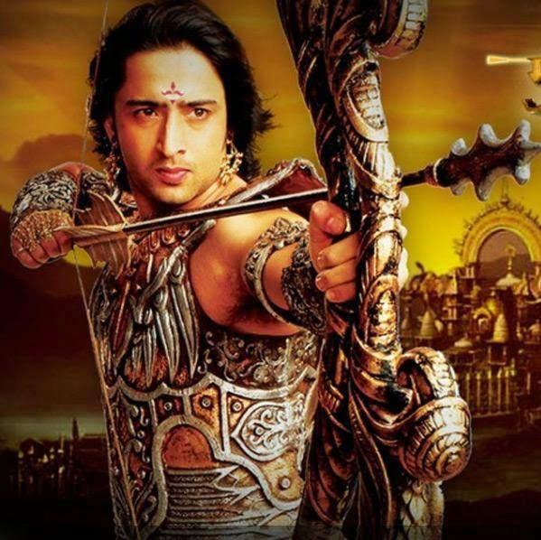 kumpulan foto tan shaheer sheikh pemeran arjuna mahabharata
