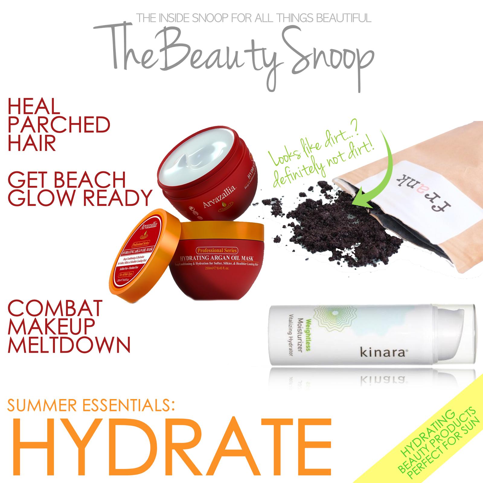 Kinara moisturizer, Frank body scrub, Arvazallia Argon Mask review