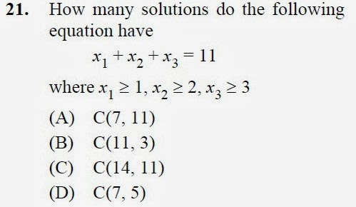 2012 December UGC NET in Computer Science and Applications, Paper III, Question 21