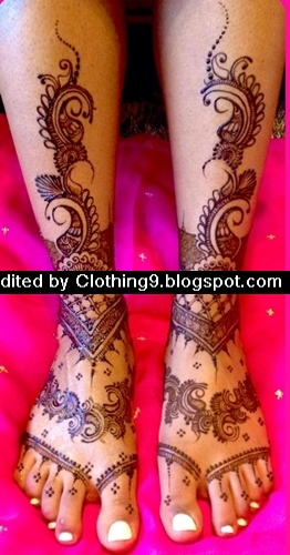 Mehndi Eid Collection 2015 : Latest mehndi designs new eid collection for girls