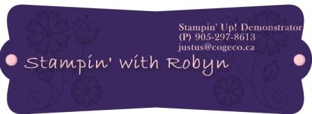 Stampin' with Robyn