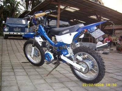 Modifikasi Mesin Yamaha Force One