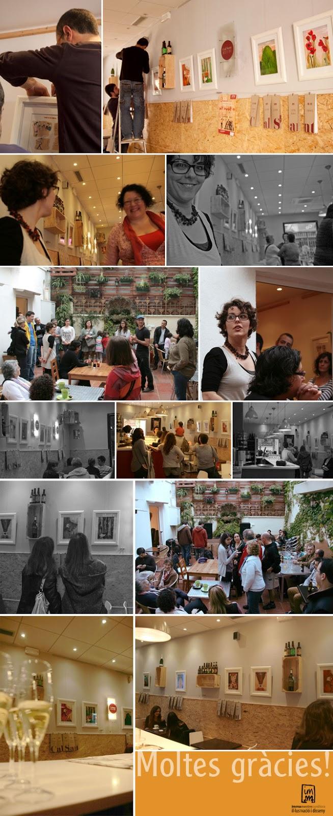 Exposició a Cal Sant