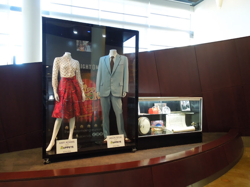 The Muppets movie costume exhibit
