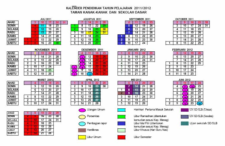 download kalender pendidikan sd thn pelajaran 2011 2012 download