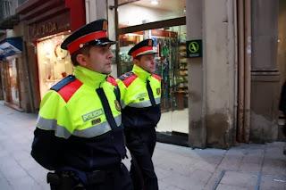 mossos d'esquadra, campanya de Nadal