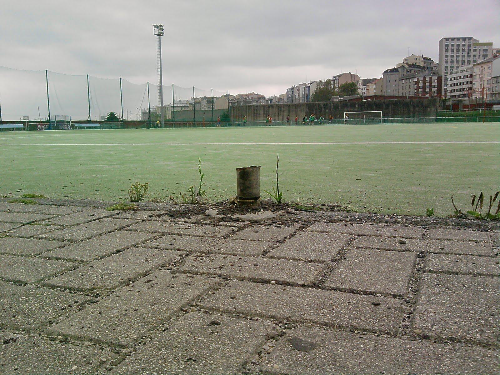Futbol modesto as mari as a coru a denuncia de la for Puerta 8 ciudad deportiva