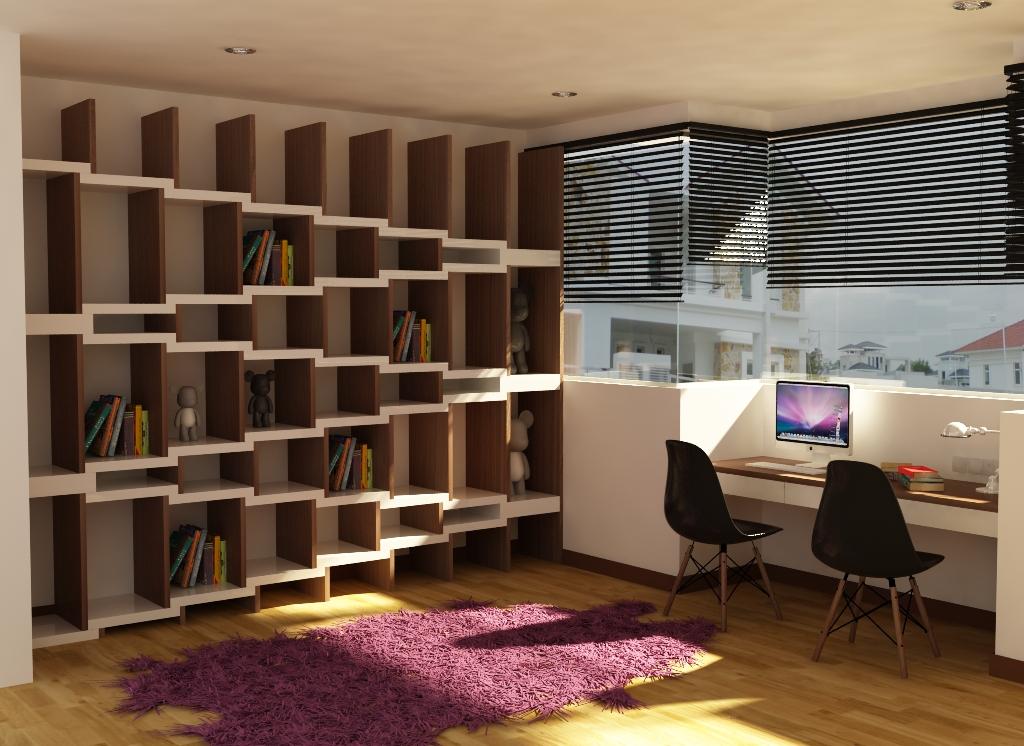 拥有无限的创意,才有完美的设计。: Book cabinet design~