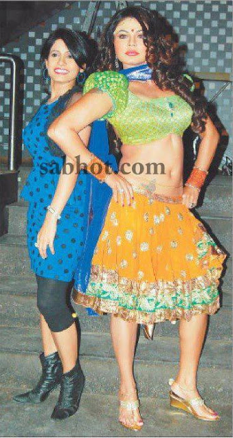 Miss pooja unseen pictures with rakhi sawant