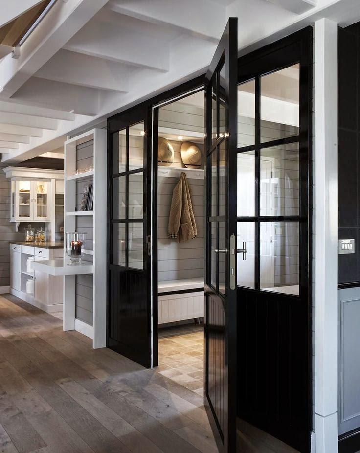 My Sweet Savannah Painting Interior Doors Black
