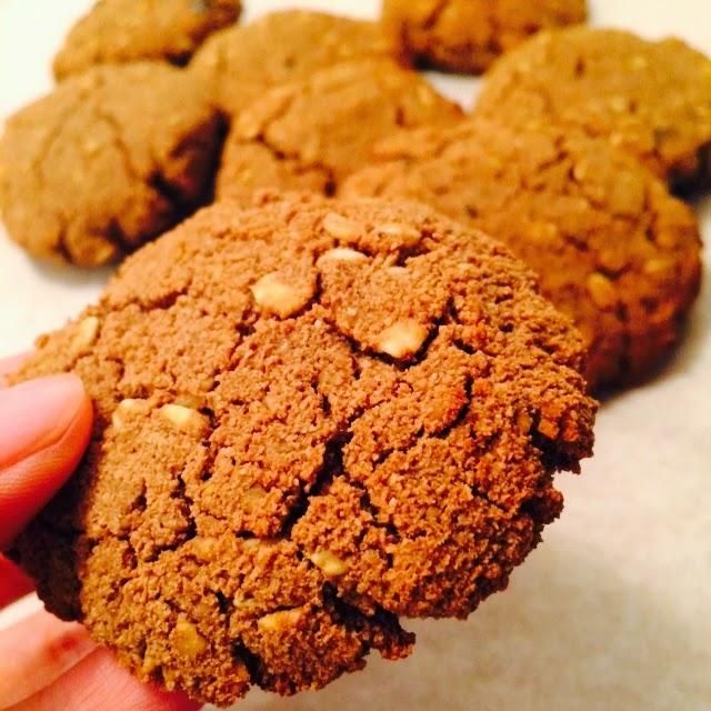 Chocolate & Coconut Berry Oats Cookies Recipe