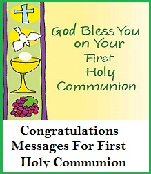 Congratulation messages holy communion congratulations messages for first holy communionfirst holy communion congratulation wordings what to write in a first holy communion card sample m4hsunfo