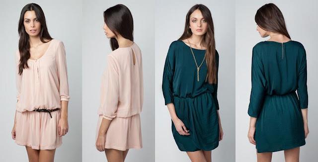 vestidos informales de moda bershka