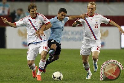 Rusia vs Republik Ceko 9 Juni 2012