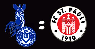 22ª Rodada - MSV Duisburg : St. Pauli