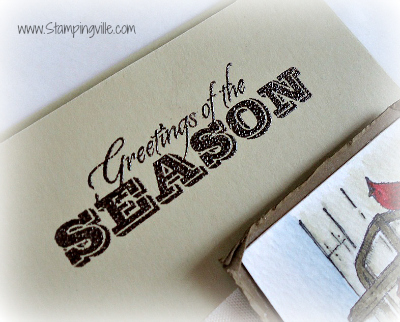 Stampin' Up! Greetings of the Season Stamp Set