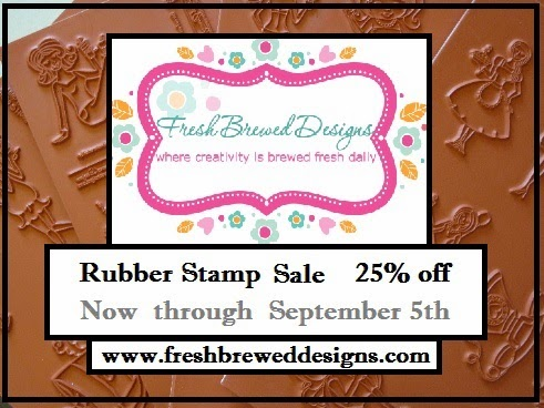 SALE on RUBBER STAMPS!