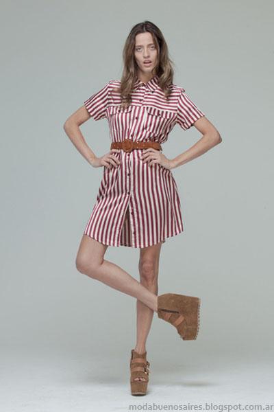 vestidos Moda otoño invierno 2013 Basilotta