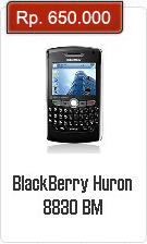 Spesifikasi Dan Harga BlackBerry Huron 8830