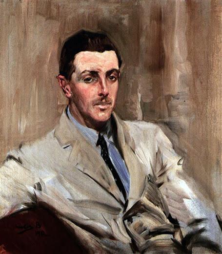 Retrato del primer conde de la maza, Joaquín Sorolla,retratos