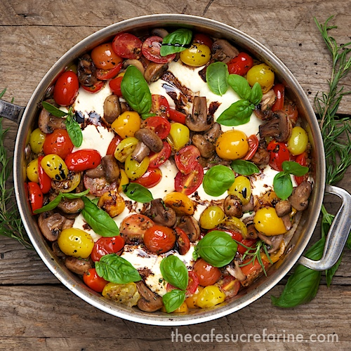 Easy italian chicken caprese the caf sucre farine italian chicken caprese comes together in under an hour its so fresh and full forumfinder